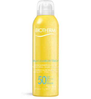 Brume solaire dry touch SPF50