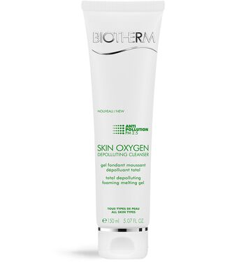 Skin Oxygen Gel nettoyant Anti-pollution